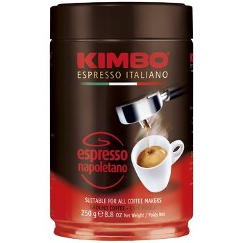Kimbo Espresso Napoletano Ground Coffee in Tin 250g - buy, prices for EKO Market - photo 1