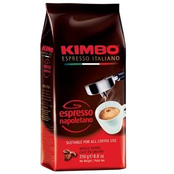 Кофе Kimbo Espresso Napoletano в зернах 250г - купить, цены на ЕКО Маркет - фото 1