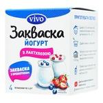 Закваска бактеріальна Vivo Йогурт з лактулозою 1г х 4шт