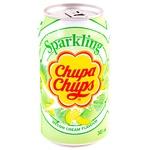 Beverage Chupa chups melon carbonated 345ml can Korea