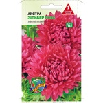 Насіння Агроконтракт Квіти Айстра Зільберт роза 0,1г