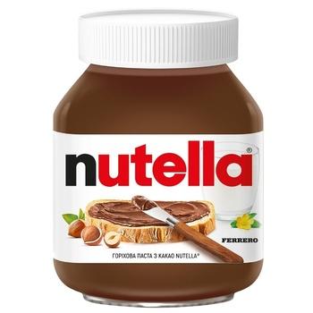 Ореховая паста Nutella с какао 180г