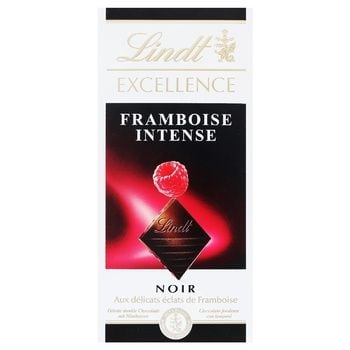 Шоколад Lindt Excellence темный малина 100г - купить, цены на Космос - фото 1