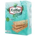 Хлібці Галеті Хлібці-Луганці пшеничні з морською капустою без дріжджів та цукру 100г
