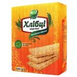 Хлібці Галеті Хлібці-Луганці пшенично-вівсяні без дріжджів та цукру 100г