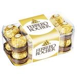 Конфеты вафельные Ferrero Rocher хрустящие 200г