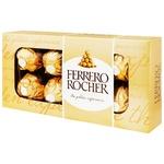 Конфеты вафельные Ferrero Rocher хрустящие 100г