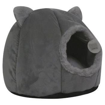 Лежак-домик для собак и кошек круглый 0,45кг