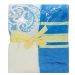 Набір рушників подарунковий ldeal 50х90 см 2 шт. Blue Frost 400 г/м2