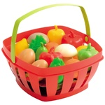 Ecoiffier Basket with Products 15pcs
