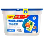 Wash&Free Universal Capsules for Washing with Household Soap 3in1 17pcs