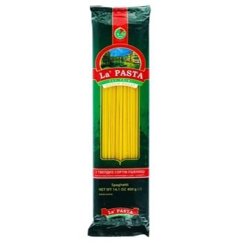 Макарони Ла Паста спагетті 400г - купити, ціни на Таврія В - фото 1