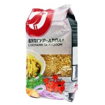 Булгур-арпа Ашан с овощами и укропом 700г