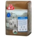 Diapers for dogs 8in1 60x60cm cellulose 30pcs