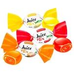 Конфеты Roshen Джус Микс карамельные с фруктово-ягодной начинкой весовые