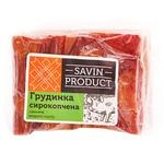 Brisket Savin product pork raw smoked