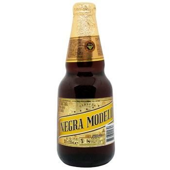 Пиво Modelo Negra 5.3% темное 0,355л - купить, цены на Ашан - фото 1