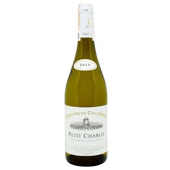 Вино Domaine Du Colombier Petit Chablis белое сухое 12% 0.75л