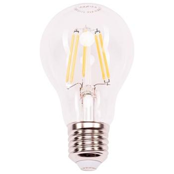 Лампа Люксел Е27 10W А60 073-H 2700К куля світодіодна філаментна