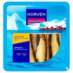 Шпроты Norven горячего копчения в масле 150г