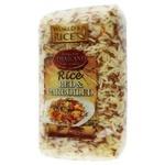 Рис World`s Rice parboiled червоний 500г
