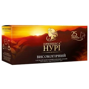 Чай черный Принцесса Нури Высокогорный 25шт 2г - купить, цены на ЕКО Маркет - фото 2