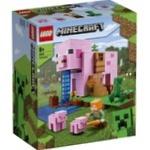Конструктор Lego Minecraft Дом-свинья