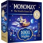 Чай черный и зеленый Monomax 1001 Ночь 100шт 1.5г