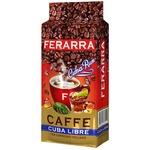 Ferarra Cuba Libre Ground Coffee 250g