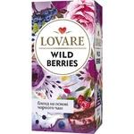 Чай черный Lovare Дикие ягоды в пакетиках 24шт*1,5г