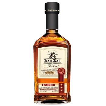 Zhan-Zhak Classic 3* Cognac 40% 0.25l