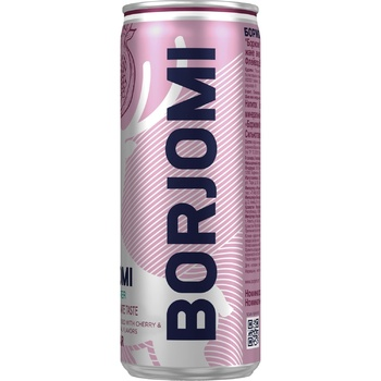 Borjomi Mineral Carbonated Water with Cherry-Pomegranate Flavor 0,33l - buy, prices for CityMarket - photo 1