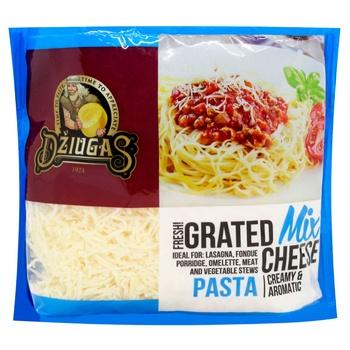 Сир Dziugas Мікс сирів для пасти 42% 250г - купити, ціни на Восторг - фото 1