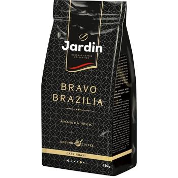 Кофе Jardin Bravo Brazilia молотый 250г - купить, цены на ЕКО Маркет - фото 1
