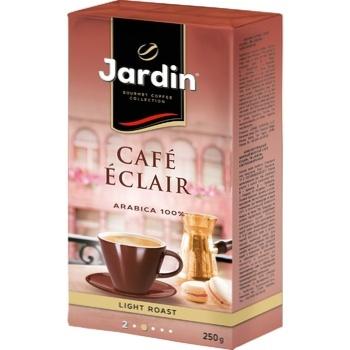 Кофе Jardin Cafe Eclair молотый 250г - купить, цены на Ашан - фото 1