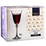 Набір келихів Богемія Asio(Alexandra) 1SD70 250мл 6шт для вина