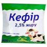 Кефир 2,5% 400г