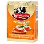 Продукт сырный Тульчинка Российский плавленый 45% 90г