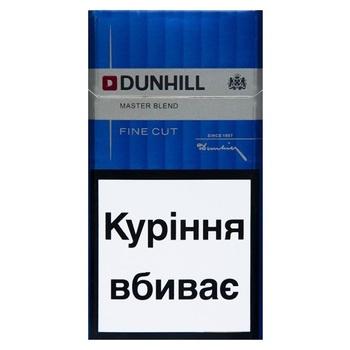 Цигарки Dunhill Fine Cut Master Blend - купити, ціни на Восторг - фото 2