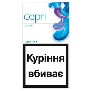 Capri Azzurro Cigarettes - buy, prices for Auchan - photo 1