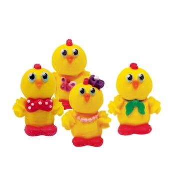 Декор кондитерский Добрик Веселые цыплята 19г - купить, цены на ЕКО Маркет - фото 1