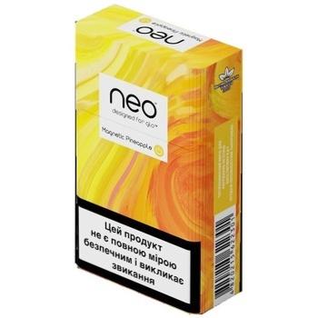 Стіки тютюнові GLO Neo Demi Magnetic Pineapple - купити, ціни на Восторг - фото 1