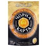 Кава Чорна Карта Gold розчинна 100г