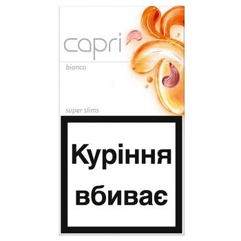 Сигареты Capri Bianco - купить, цены на ЕКО Маркет - фото 1