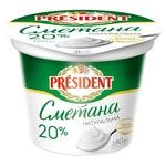 President Sour Cream 20% 180g