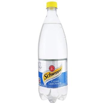 Напій Schweppes Clear Lemonade газований 1л