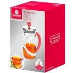 Френч-прес Rondell Crystal Red RDS-935 0.6л
