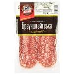 Alan Braunschweig Sliced Raw Smoked Top Grade Sausage 80g