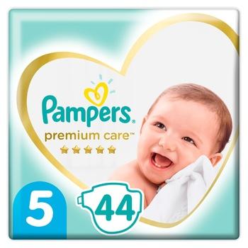 Подгузники Pampers Premium Care размер 5 Junior 11-16кг 44шт