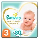 Підгузки Pampers Premium Care розмір 3 6-10кг 80шт